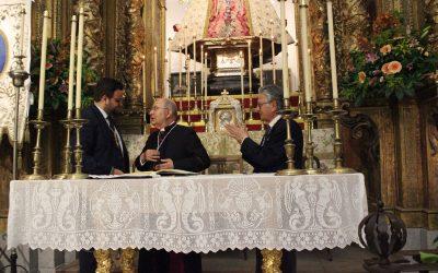 Juan Sánchez pregona a la Estrella y da inicio al Novenario 2018