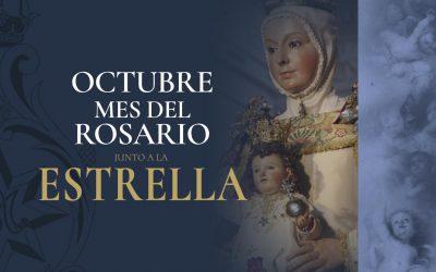 Octubre, mes del Rosario junto a la Estrella
