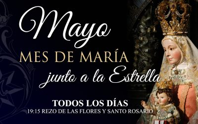 Mayo, mes de María junto a la Estrella