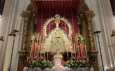 Altar de Cultos de la Virgen de la Estrella 2019