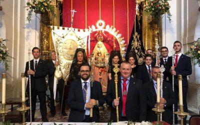 La Hermandad de la Estrella de Córdoba asiste al Corpus Christi 2019