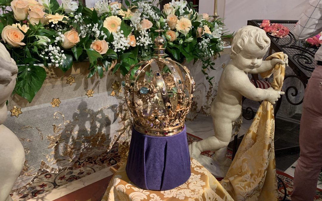 Restaurada la Corona de Camarín de la Virgen