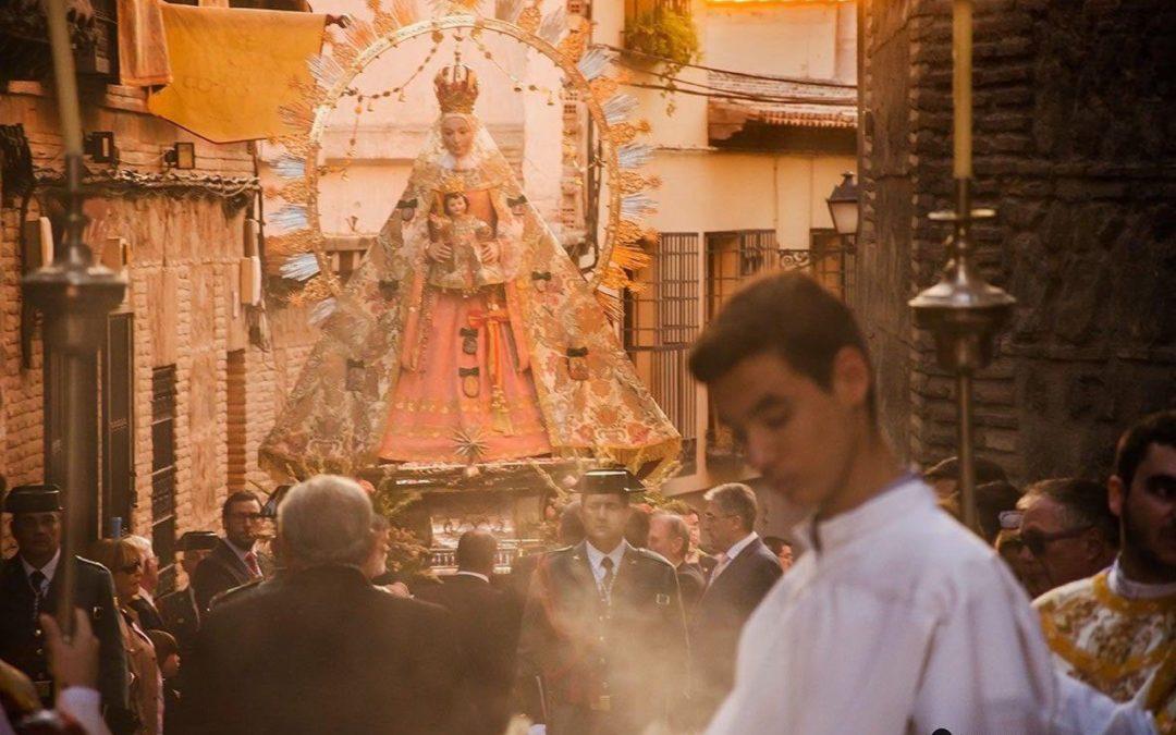 La Estrella por las calles de Toledo en su procesión de 2019