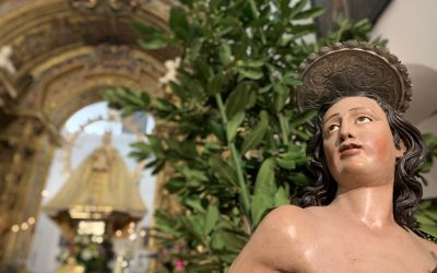 Misa y cultos en honor a San Sebastián