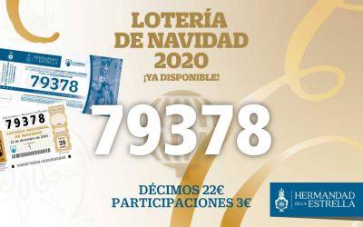 ¡Ya disponible la lotería de Navidad 2020!