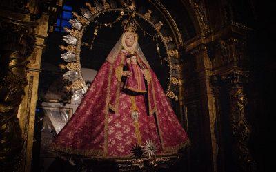 La Virgen de la Estrella ataviada para la Cuaresma