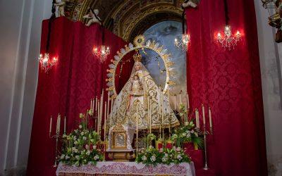 Altar de Cultos 2021 de la Virgen de la Estrella